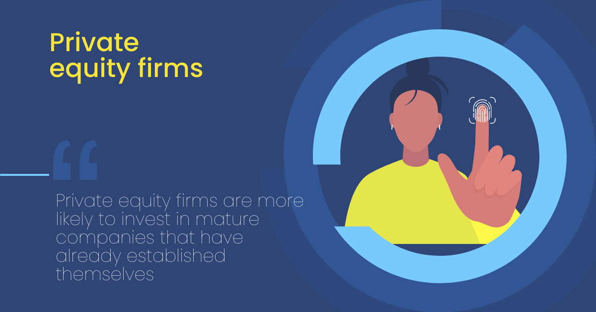 Private equity firms, differences between investors