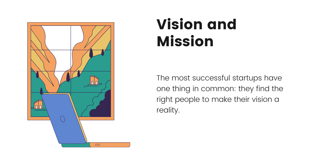 company vision and mission when funding your business