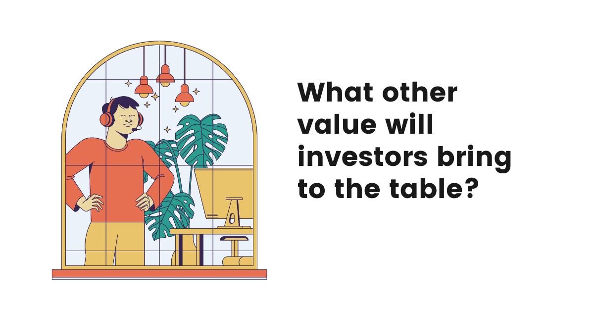 investors in your company, funding, investors list